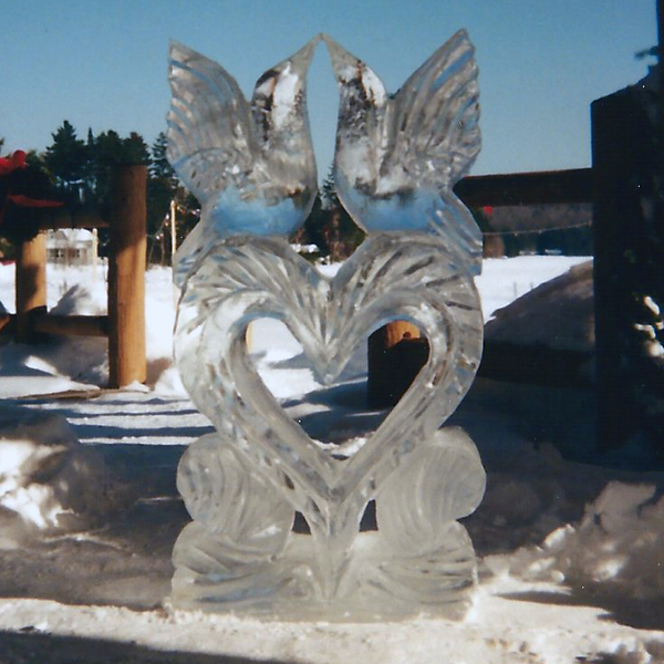 VOTE On The Ice Sculpture At