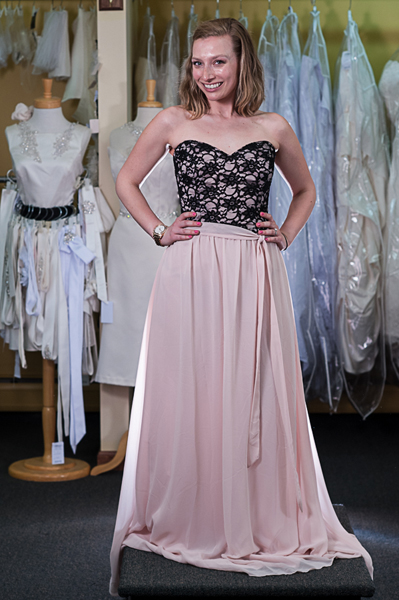 c2ca7aaf48e96 Real Maine Weddings - The Winning Bridesmaid Gown from The Henry's ...