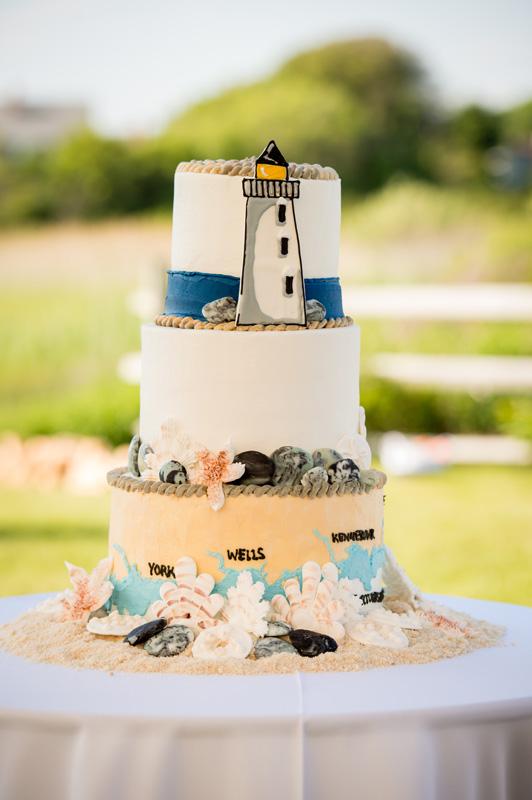 Ogunquit Maine Wedding Cakes