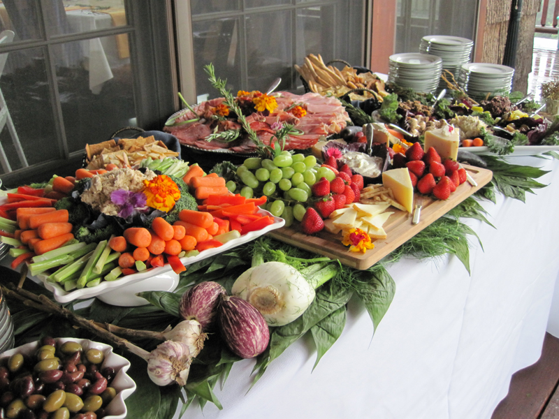 Real maine weddings good food store catering company for Catering companies