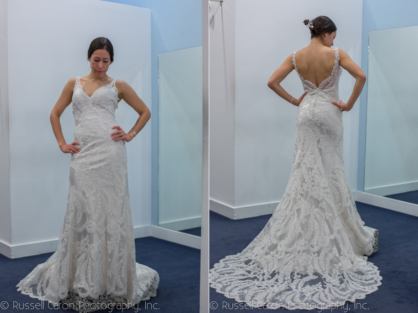 Real Maine Weddings - The winning wedding gown is…